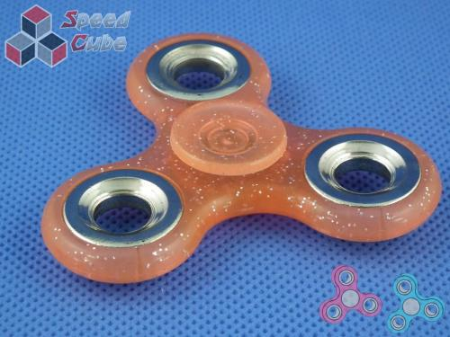 FidGet - Triple Luminos Spinner Orange