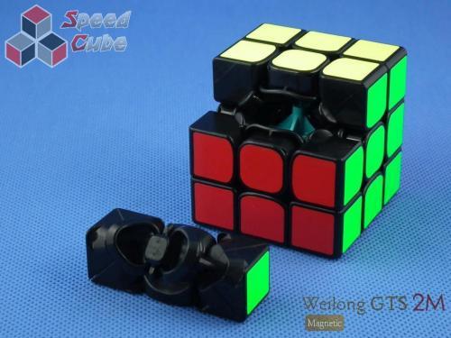 MoYu WeiLong GTS2 Magnetic 3x3x3 Czarna