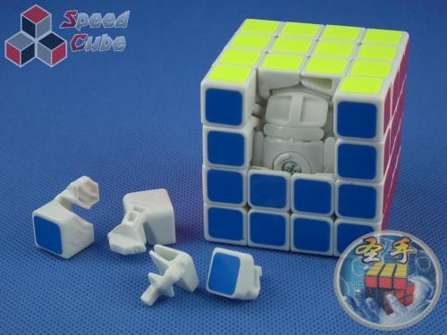ShengShou 4x4x4 Legend Biała