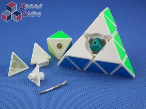 YongJun GuanLong Pyraminx Biała