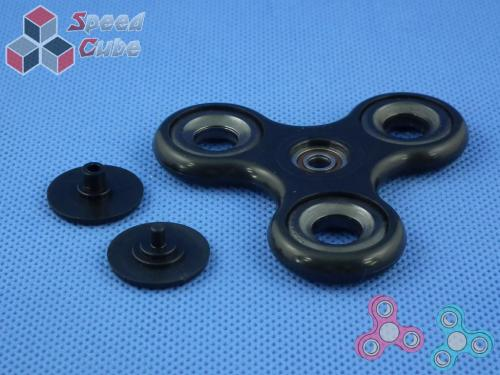 FidGet - Triple Eco Spinner Black
