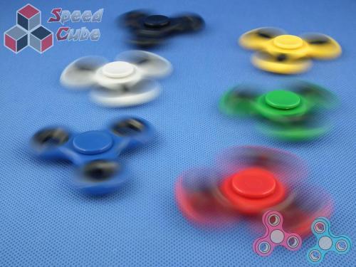 FidGet - Triple Eco Spinner Yellow