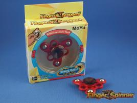 MoYu Three Balls Finger Spinner Red MY9945C