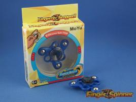 MoYu Three Balls Finger Spinner Blue MY9945C