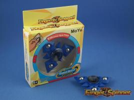 MoYu Three Balls Finger Spinner Blue 9945D
