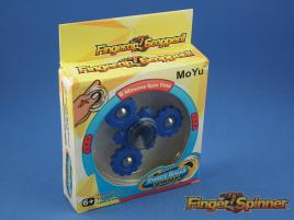 MoYu Three Balls Finger Spinner Blue 9945B