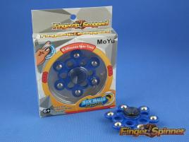 MoYu Six Balls Finger Spinner Blue 9946D