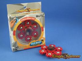 MoYu Six Balls Finger Spinner Red 9946A