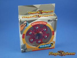 MoYu Six Balls Finger Spinner Red 9946B