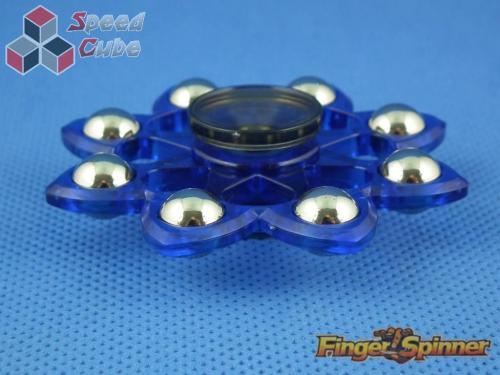 MoYu Eight Balls Finger Spinner Blue 9948B