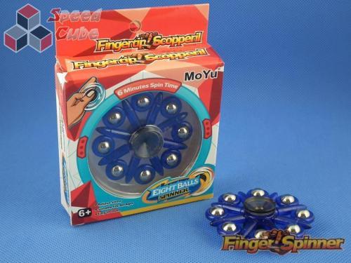 MoYu Eight Balls Finger Spinner Blue 9948D