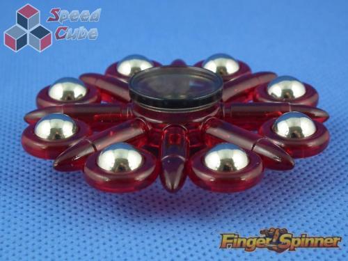 MoYu Eight Balls Finger Spinner Red 9948D