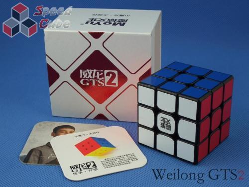 MoYu WeiLong GTS2 3x3x3 Czarna