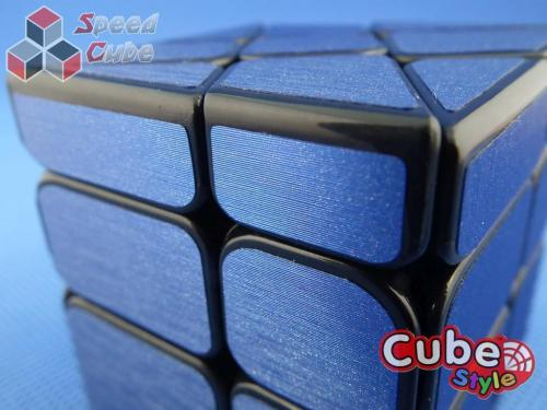 Cube Style Windmill Black Blue Stickers