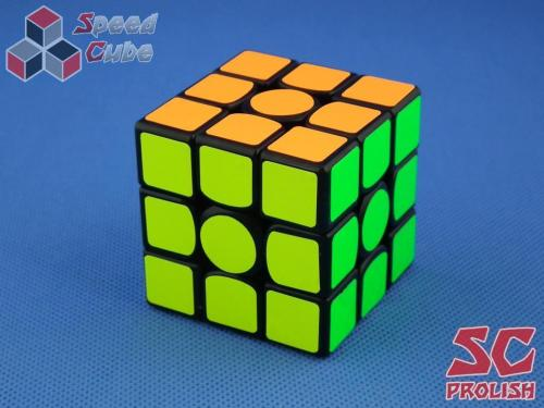 PROLISH GAN356 Air U 3x3x3 Czarna Half Bright Blue GES