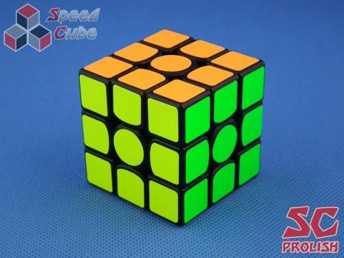 PROLISH GAN356 Air U 3x3x3 Czarna Half Bright Green GES
