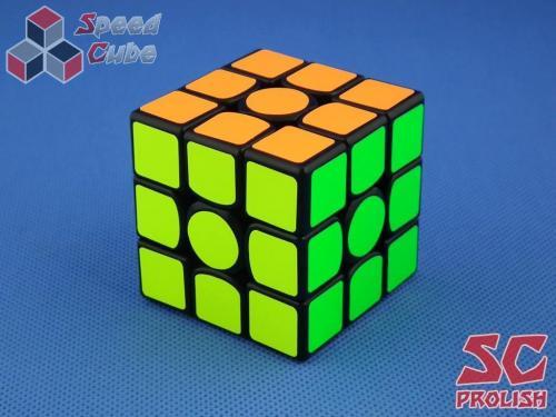 PROLISH GAN356 Air U 3x3x3 Czarna High Bright Green GES