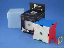 MoFangGe QiYi X-man Skewb Wingy Concave Magnetic Kolorowa