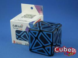 Cube Style Axis Hollow Blue St.