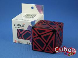 Cube Style Axis Hollow Red St.