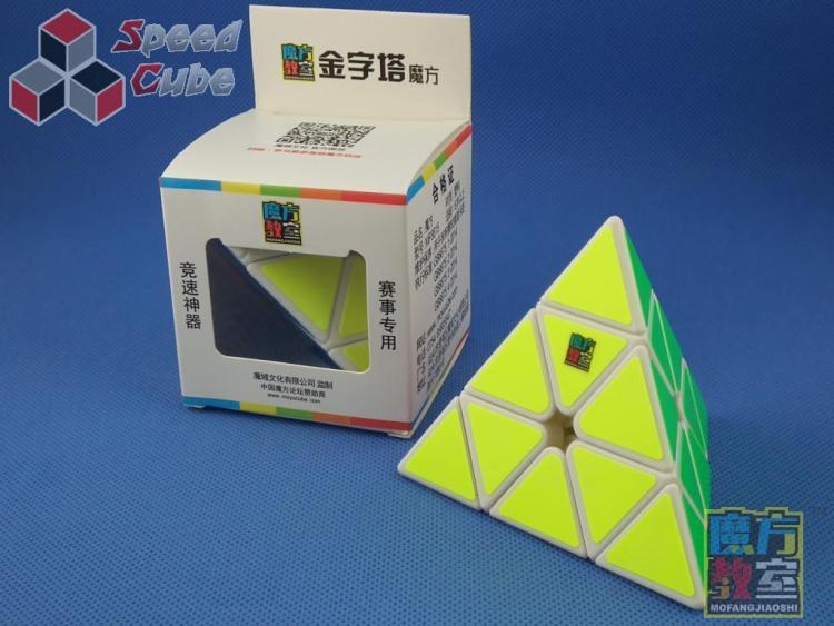 MoYu MoFang JiaoShi Classrom Pyraminx Biała
