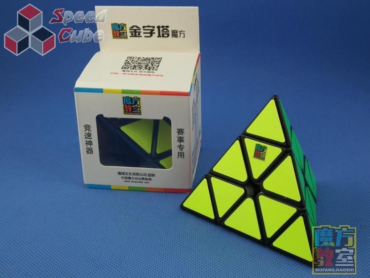 MoYu MoFang JiaoShi Classrom Pyraminx Czarna