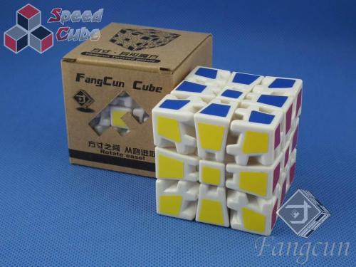 FangCun Gear Cube III 3x3x3 Biała
