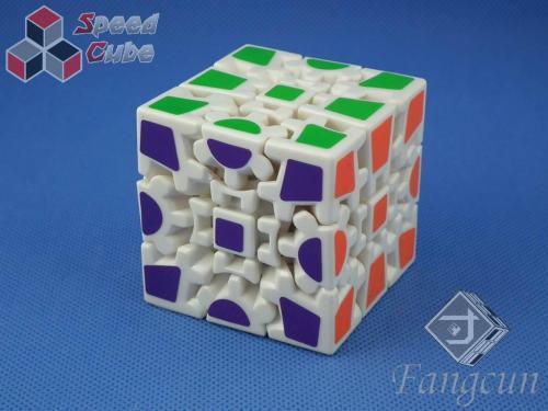 FangCun Gear Cube II 3x3x3 Biała