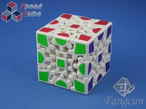 Fangcun Gear Cube I 3x3x3 Biała
