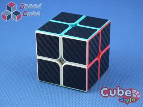 Cube Style 2x2x2 LeXus Red Carbon Stick.