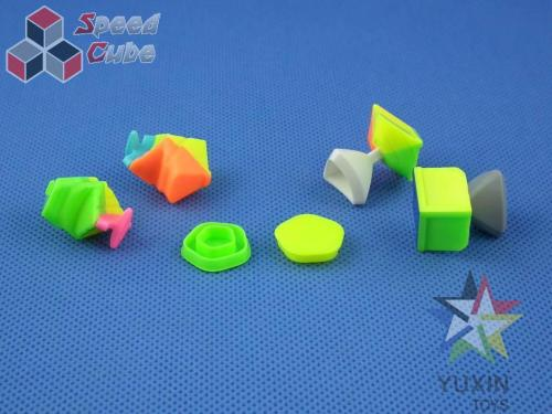 ZhiSheng YuXin Little Magic Megaminx Kolorowa