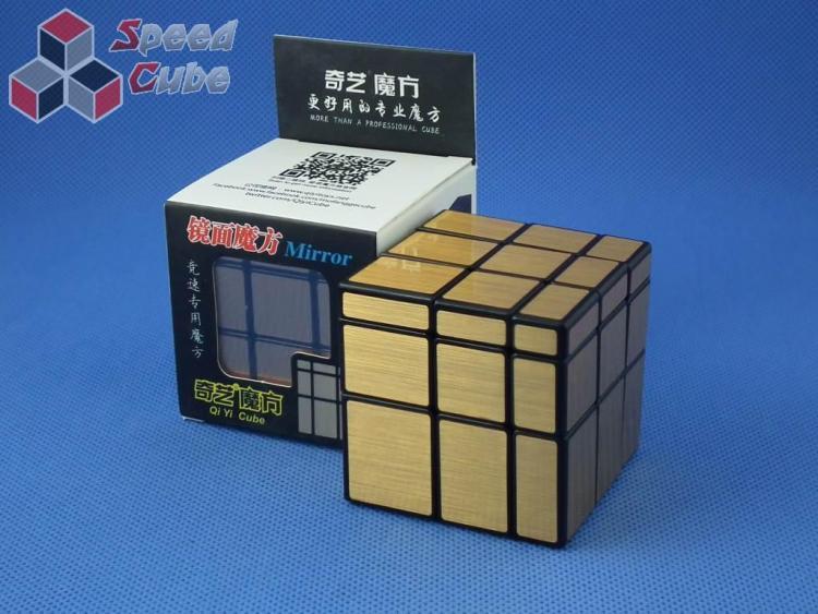QiYi Mirror 3x3x3 Black/Gold