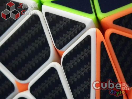 Cube Style Axis Stickerless Carbon Stickers