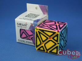 Cube Style Axis Stickerless Hollow Carbon St.