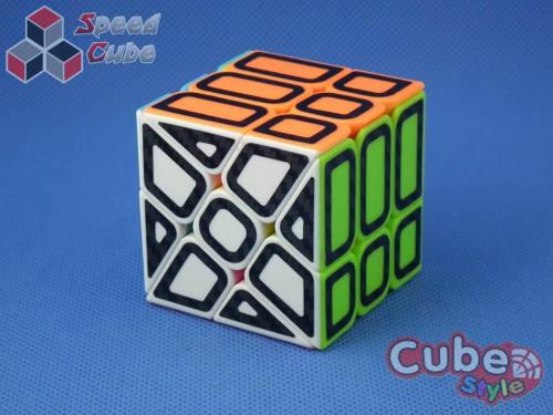 Cube Style Windmill Stickerless Hollow Carbon Stickers