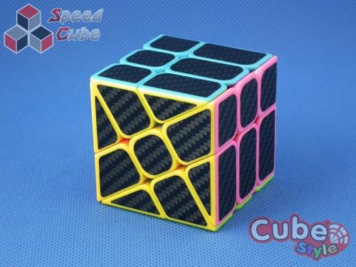 Cube Style Windmill Stickerless Carbon Stickers