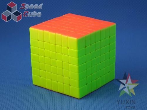 ZhiSheng YuXin HuangLong 7x7x7 Kolorowa PiNK