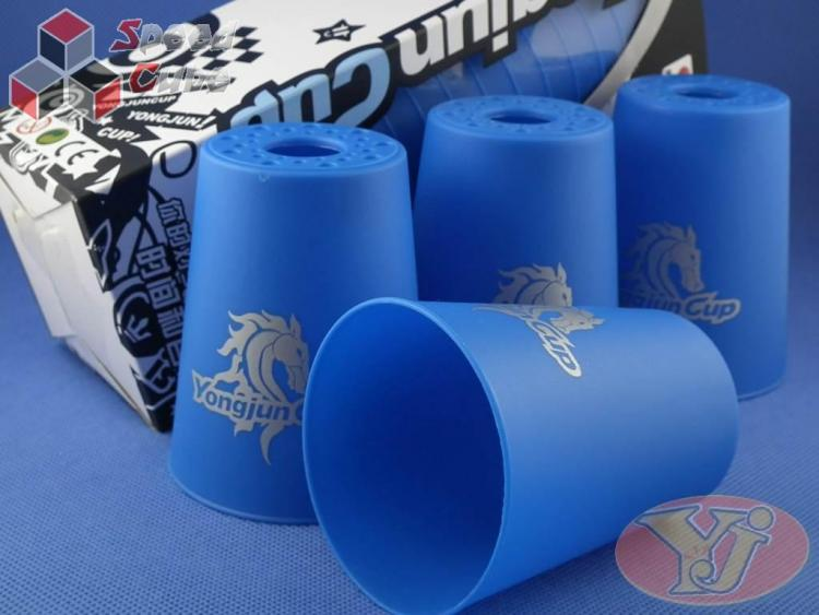Kubki YJ Speed Flying Cups Niebieskie BOX