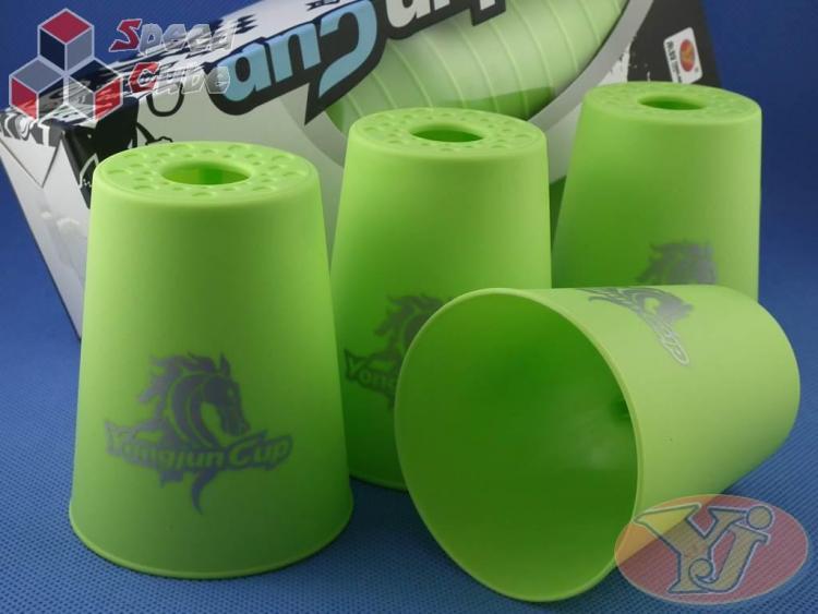 Kubki YongJun Speed Flying Cups Zielone BOX
