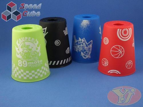 Kubki YongJun Stacking Cups Graffiti Niebieskie BOX