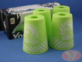 Kubki YongJun Stacking Cups Graffiti Zielone BOX