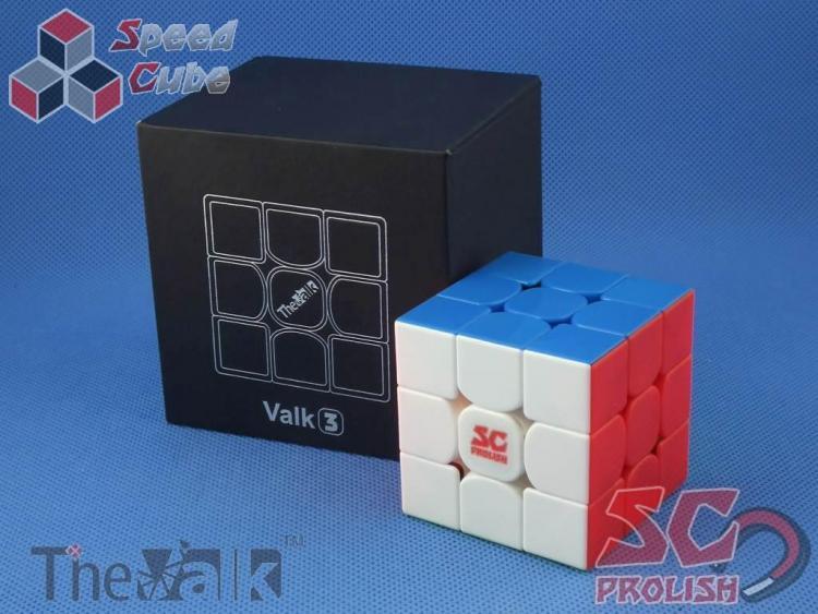 PROLISH MFG Valk 3 3x3x3 Kolorowa Magnetyczna