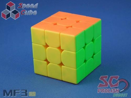 PROLISH MoFanG JiaoShi 3x3x3 MF3RS Kolorowa Magnetyczna