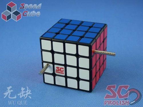 PROLISH MFG WuQue 4x4x4 Czarna Magnetyczna