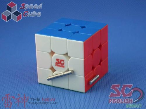 PROLISH MFG 3x3x3 Thunder Clap v2 Kolorowa Magnetyczna