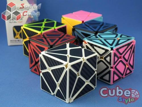 Cube Style Axis Black Carbon Stickers
