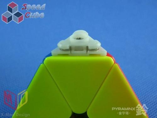MoFangGe X-man Pyraminx Magnet Bell Kolorowa
