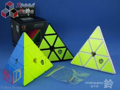 MoFangGe X-man Pyraminx Magnet Bell Czarna