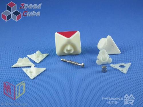 MoFangGe X-man Pyraminx Magnet Bell Biała