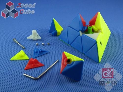 QiYi MoFangGe Pyraminx Kolorowa